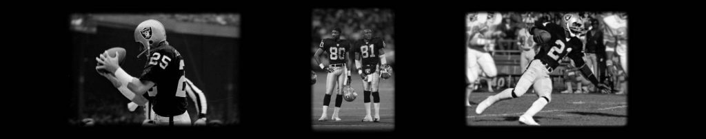 Raiders All-Time Great Wide Receivers